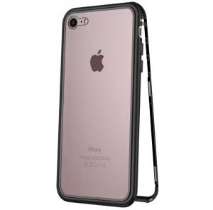 Husa 360 Magnetic Case pentru iPhone 7, Negru