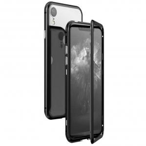 Husa 360 Magnetic Case pentru iPhone XR, Negru