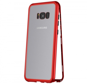 Husa 360 Magnetic Case pentru Samsung Galaxy S8 Plus, Red
