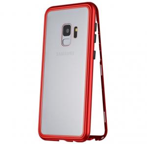 Husa 360 Magnetic Case pentru Samsung Galaxy S9, Red