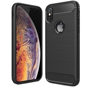 Husa Air Carbon iPhone XS, Negru