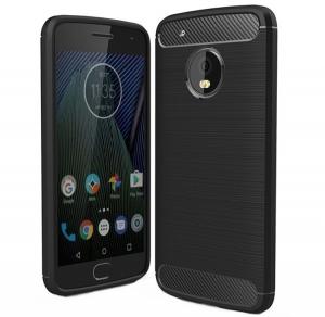 Husa Air Carbon Motorola Moto G5 Plus, Negru