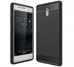 Husa Air Carbon Nokia 3, Negru