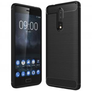 Husa Air Carbon Nokia 8, Negru