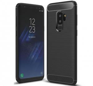 Husa Air Carbon Samsung Galaxy S9 Plus, Negru