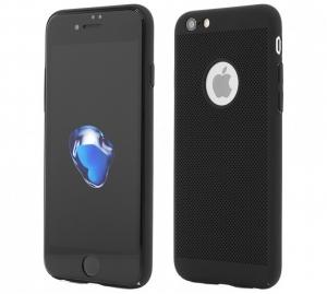 Husa Air cu perforatii iPhone 6 / 6S, Negru