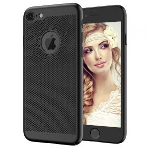 Husa Air cu perforatii iPhone 7, Negru