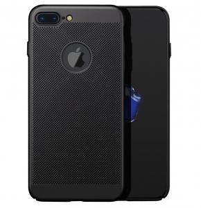 Husa Air cu perforatii iPhone 7 Plus, Negru