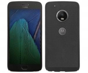 Husa Air cu perforatii Motorola Moto G5, Negru
