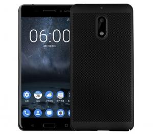 Husa Air cu perforatii Nokia 6, Negru