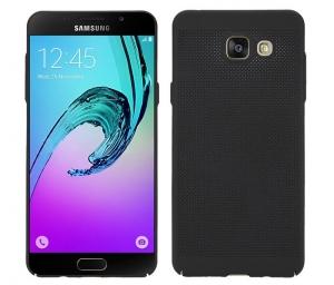 Husa Air cu perforatii Samsung Galaxy A7 (2016), Negru