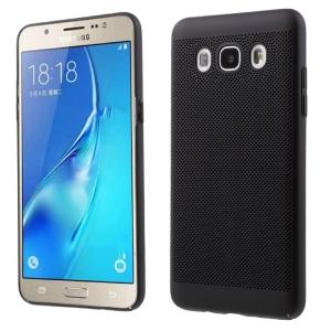 Husa Air cu perforatii Samsung Galaxy J7 (2016), Negru