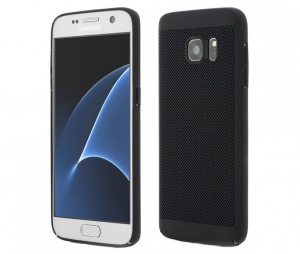 Husa Air cu perforatii Samsung Galaxy S7, Negru