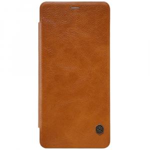 Husa Book Nillkin Qin Samsung Galaxy A8 (2018), Maro