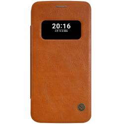Husa Book S-View Nillkin Qin LG G5, Maro