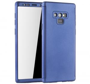Husa Full Cover 360 pentru Samsung Galaxy Note 9, Albastru