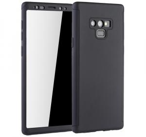 Husa Full Cover 360 pentru Samsung Galaxy Note 9, Negru