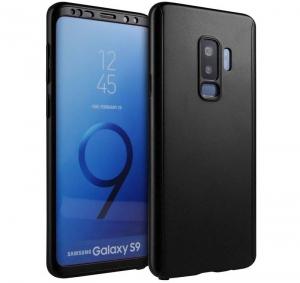 Husa Full Cover 360 Samsung Galaxy S9, Negru