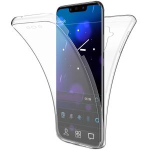 Husa Full TPU 360 fata + spate Huawei Mate 20 Lite, Transparent