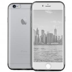 Husa Full TPU 360 (fata + spate) pentru Apple iPhone 6 Plus / 6S Plus, Gri Transparent