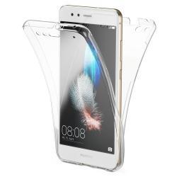 Husa Full TPU 360 (fata + spate) pentru Huawei P10 Lite, Transparent
