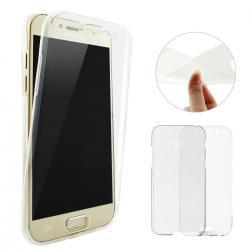 Husa Full TPU 360 (fata + spate) pentru Samsung Galaxy A3 (2017), Transparent