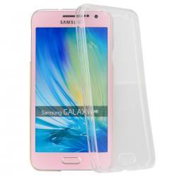 Husa Full TPU 360 (fata + spate) pentru Samsung Galaxy A5 (2015), Transparent