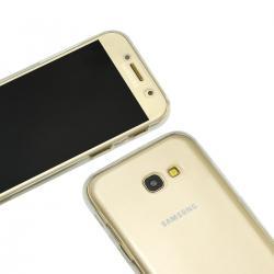Husa Full TPU 360 (fata + spate) pentru Samsung Galaxy A5 (2017), Transparent