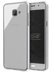 Husa Full TPU 360 (fata + spate) pentru Samsung Galaxy A7 (2016), Transparent