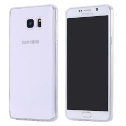 Husa Full TPU 360 (fata + spate) pentru Samsung Galaxy Note 5, Transparent