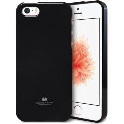 Husa Goospery Jelly iPhone 5 / 5S / SE, Negru