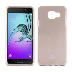 Husa Goospery Jelly Samsung Galaxy A3 (2016), Gold