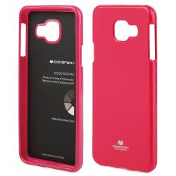 Husa Goospery Jelly Samsung Galaxy A3 (2016), Hot Pink