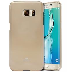 Husa Goospery Jelly Samsung Galaxy S6 Edge Plus, Gold