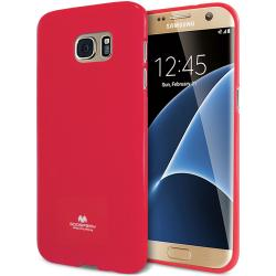 Husa Goospery Jelly Samsung Galaxy S7 Edge, Hot Pink