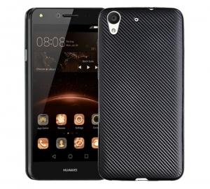 Husa Huawei Y6II i-Zore Carbon, Negru