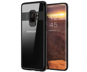 Husa iPaky Slim pentru Samsung Galaxy S9 Plus, Negru