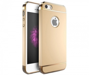 Husa iPhone 5 / 5S / SE Joyroom LingPai Series, Gold