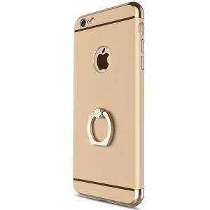 Husa iPhone 6 / 6S Joyroom LingPai Ring, Gold