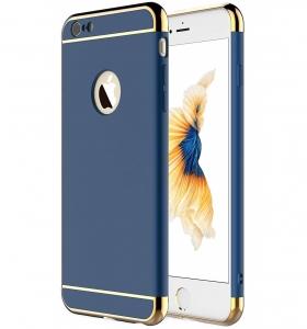 Husa iPhone 6 / 6S Joyroom LingPai Series, Albastru