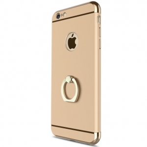 Husa iPhone 6 Plus / 6S Plus Joyroom LingPai Ring, Gold