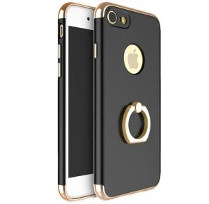 Husa iPhone 7 Joyroom LingPai Ring, Black