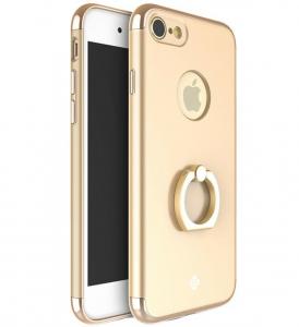 Husa iPhone 7 Joyroom LingPai Ring, Gold