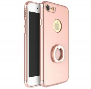 Husa iPhone 7 Joyroom LingPai Ring, Rose Gold
