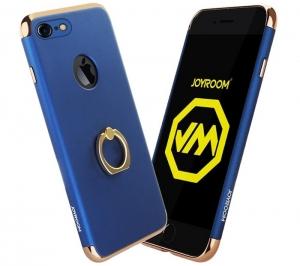 Husa iPhone 7 Plus Joyroom LingPai Ring, Albastru