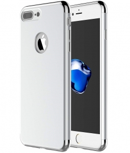 Husa iPhone 7 Plus Joyroom LingPai Series, Silver