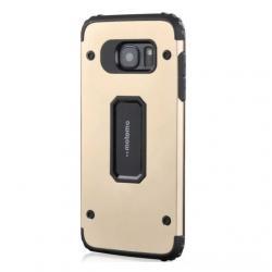 Husa Motomo Armor Hybrid Samsung Galaxy S7 Edge, Gold