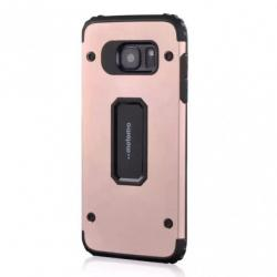 Husa Motomo Armor Hybrid Samsung Galaxy S7 Edge, Rose Gold