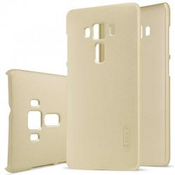 Husa Nillkin Frosted + folie protectie Asus ZenFone 3 Deluxe ZS570KL, Gold