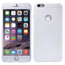 Husa Nillkin Frosted + folie protectie iPhone 6 Plus / 6S Plus, Alb